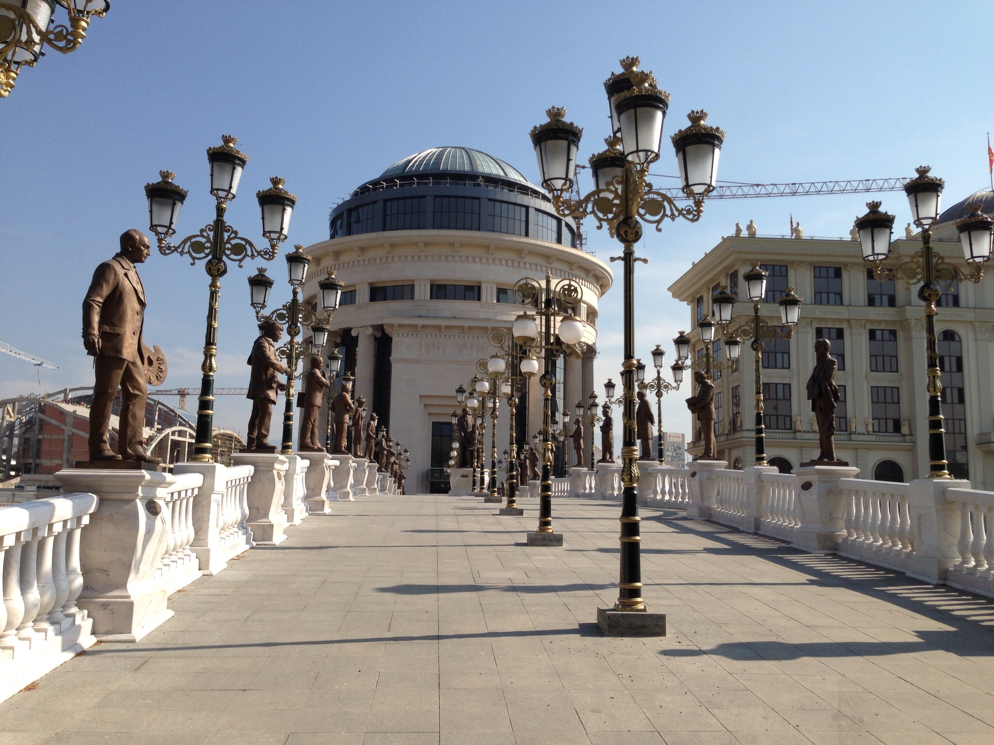 DAY 1: Skopje is welcoming you!